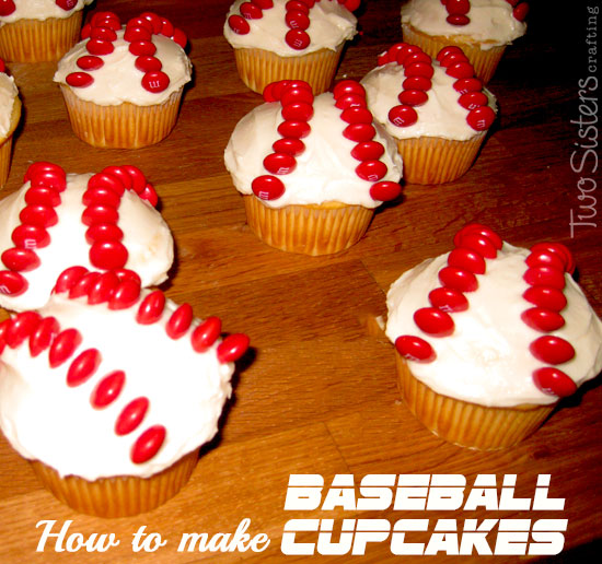 How to Make Baseball Cupcakes
