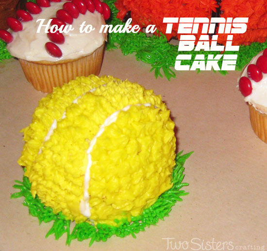How to Make a Tennis Ball Cake