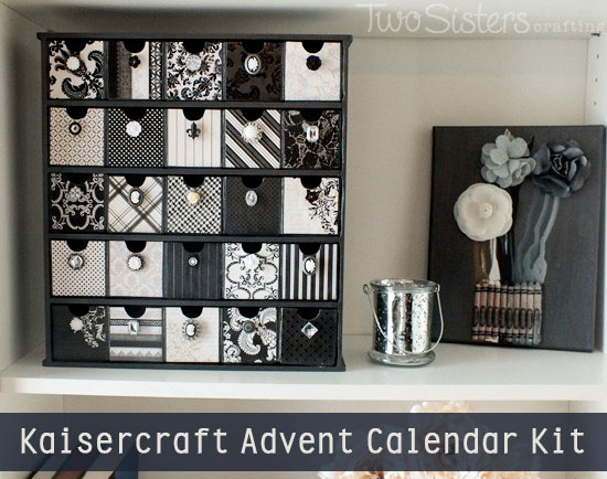Kaisercraft Advent Calendar Kit Project