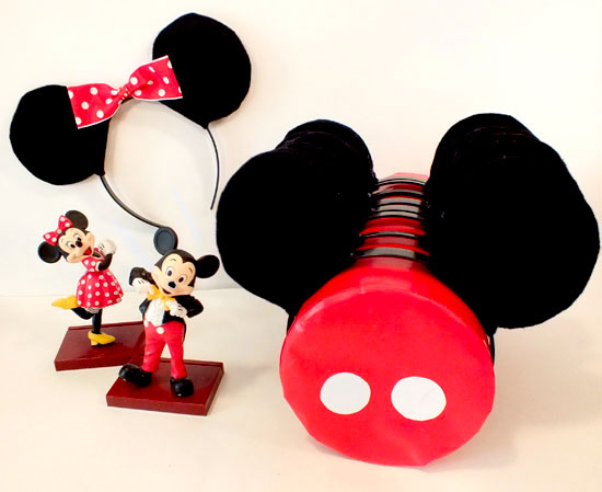 Diy Mickey Amp Minnie Mouse Ears Two Sisters
