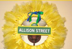 Sesame Street Big Bird Tulle Wreath