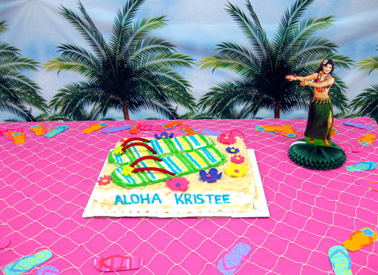 Hawaii Party Themed Kitchen Ideas