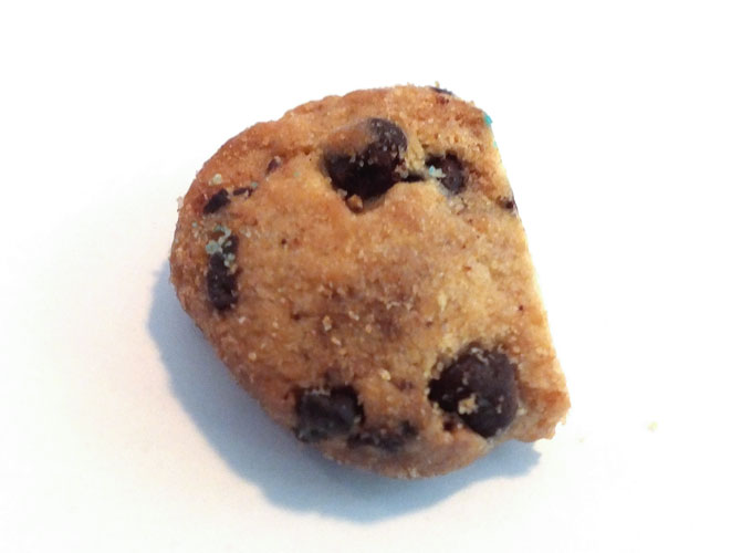Mini Chips Ahoy cookie for Cookie Monster Mouth