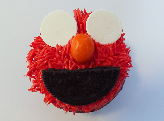 Candy Melts for Elmo's eyes