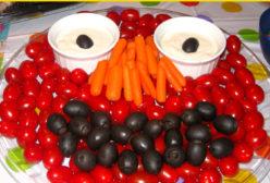 Elmo Vegetable Tray