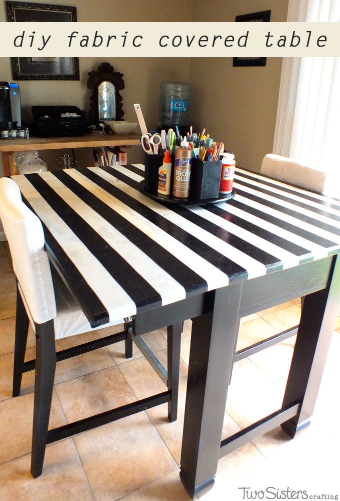 Fabric Covered Table