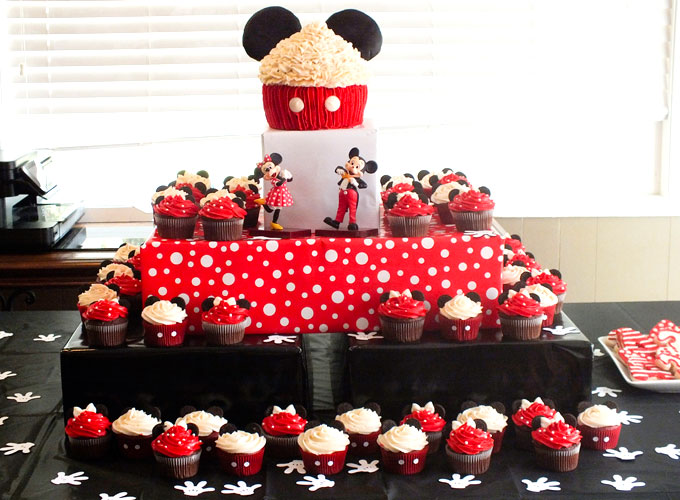 Mickey Minnie Mouse Cupcakes Two Sisters Custom Minnie Mouse Designer Cake Decorating Kit