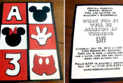 Mickey Mouse Party Ideas Two Sisters Crafting