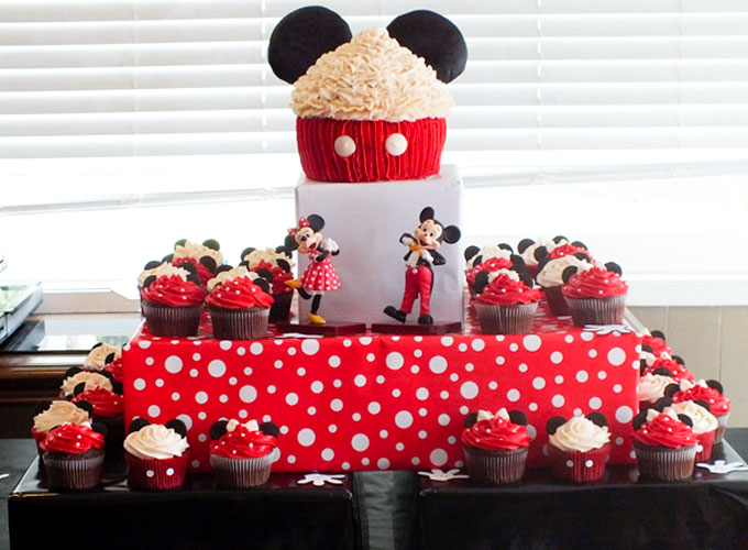 Mickey Mouse Cupcake Cake Two Sisters