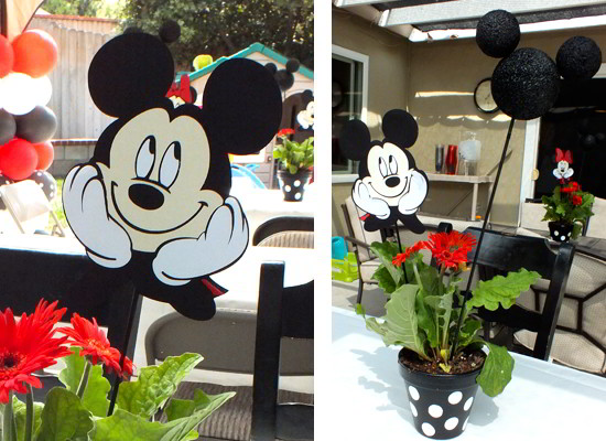 Mickey And Minnie Centerpieces Two Sisters