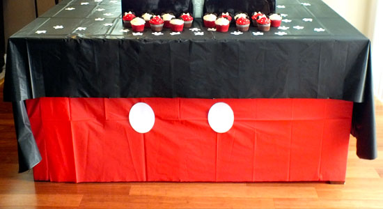 Mickey Mouse Table Cloth