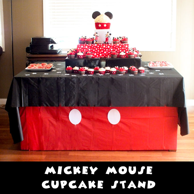 Mickey Mouse Cupcake Stand Two Sisters Crafting