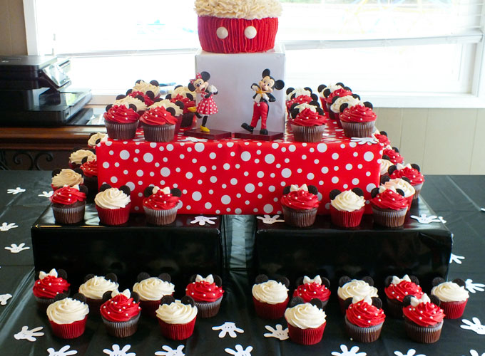 Mickey Mouse Cupcake Stand Two Sisters
