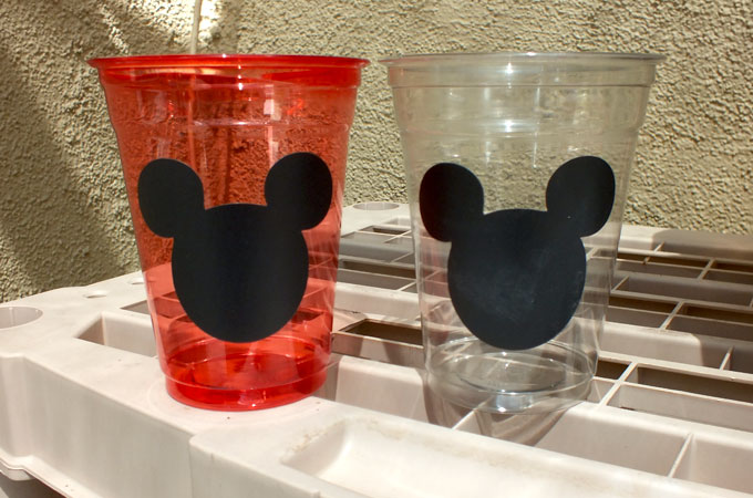 Mickey Mouse Party Cups Two Sisters Crafting