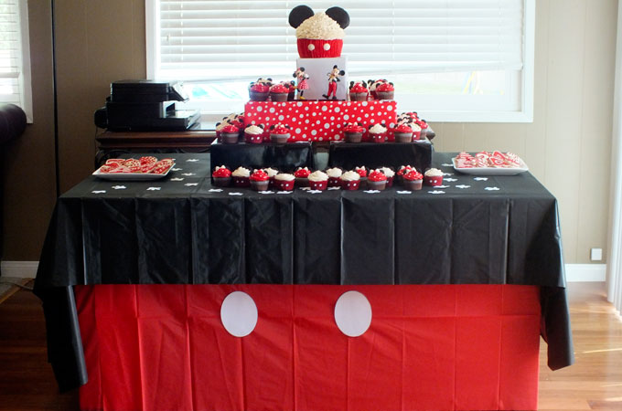 Mickey Mouse Party Decoration Ideas
