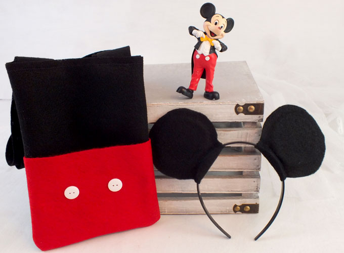 Our Mickey Mouse Party Favor Bags Are Adorable Fun And So Easy To Make