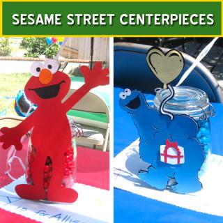 Sesame Street Centerpieces