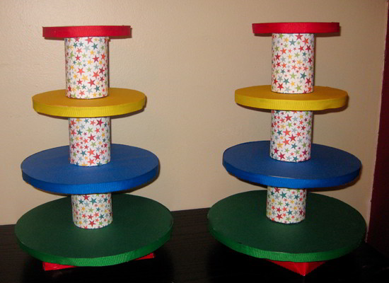 Cupcake Stand Tower - Empty