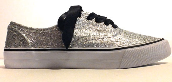 Glitter Sneakers - Side View