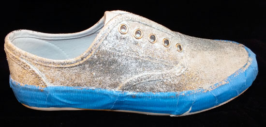 Glitter Sneakers - First Coat of Glitter