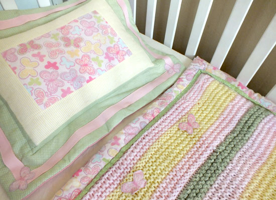 Pillow for Crib Bedding