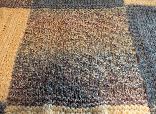 Crochet Seed Stitch Afghan