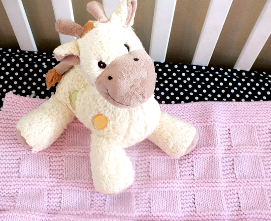 Baby Blanket with Giraffe