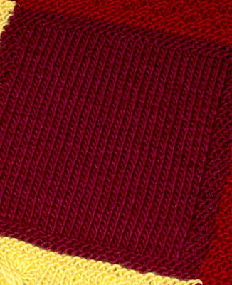 Patchwork Trio Afghan For A Usc Fan Two Sisters Crafting