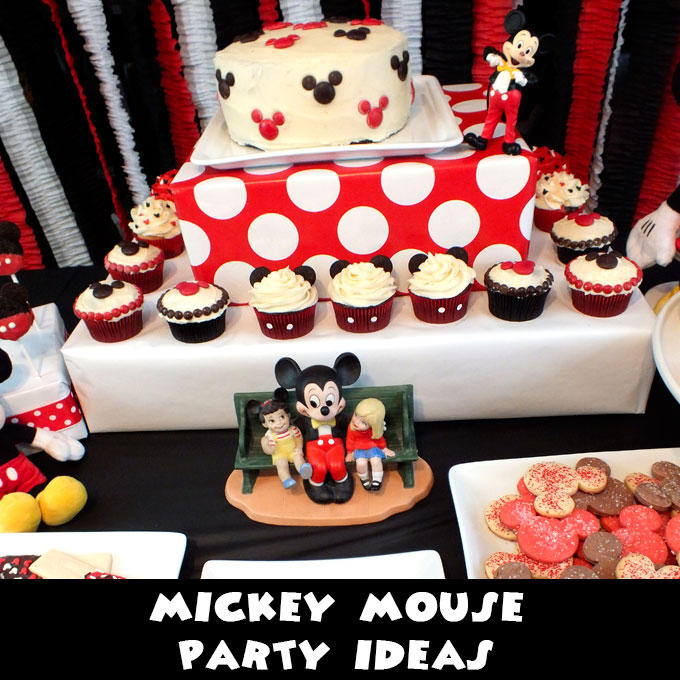 Mickey Mouse Party Ideas Two Sisters
