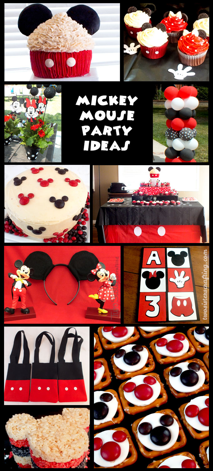 Mickey Mouse Decoration Cake