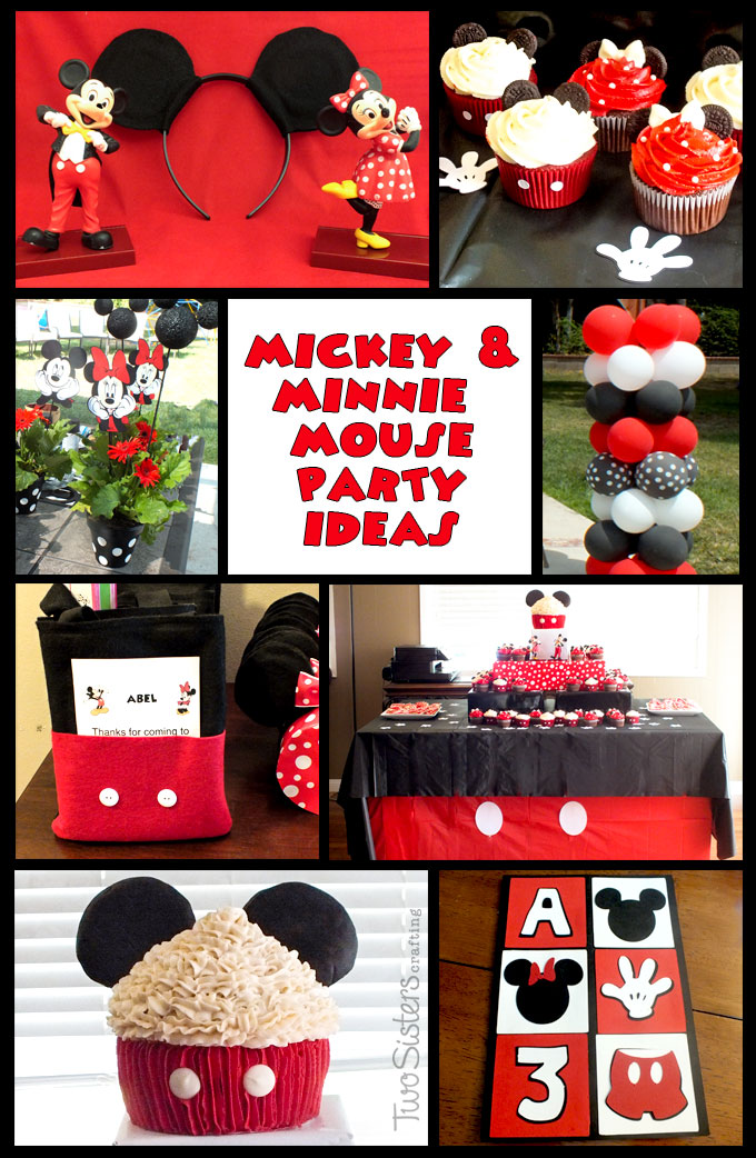 Mickey Mouse Party Food Labels Free Printables