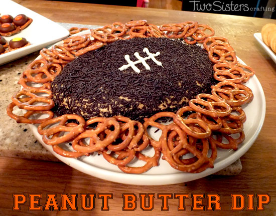Peanut Butter Dip for a Super Bowl Party