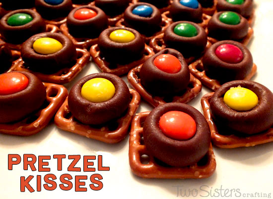 Pretzel Kisses – A great Sweet & Salty Snack
