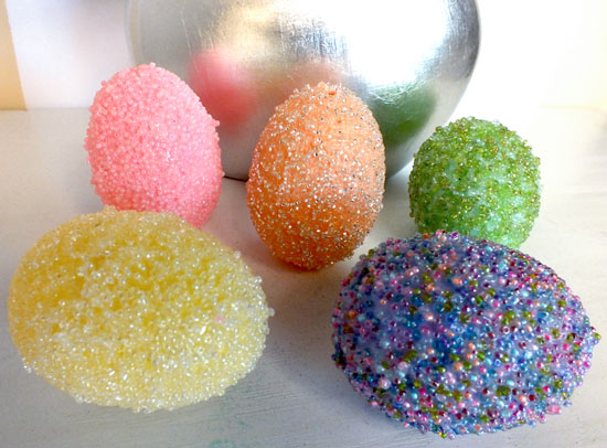 Take Those Plastic Easter Eggs To The Next Level With Our Embellished Beaded Egg Tutorial