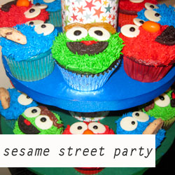 Parties - Sesame Street Party