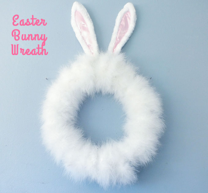 Easter Bunny Wreath Two Sisters