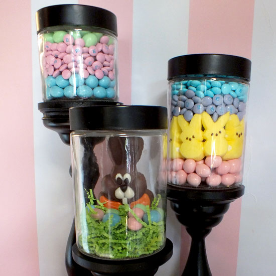 Close-up picture of Easter Candy Jar