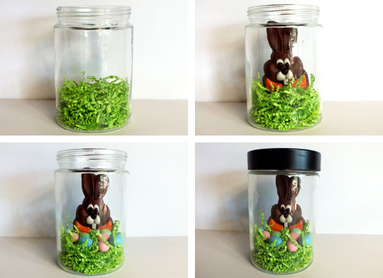 Easter Bunny Jar