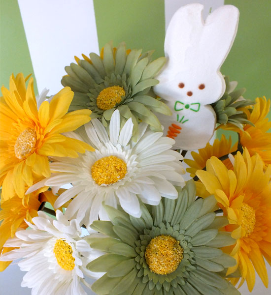 Step #8 - Add a Peep to the top of the arrangement