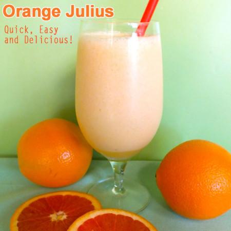 How to Make a Homemade Orange Julius