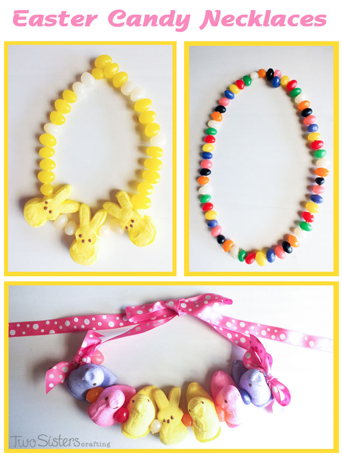 Easter Candy Necklaces