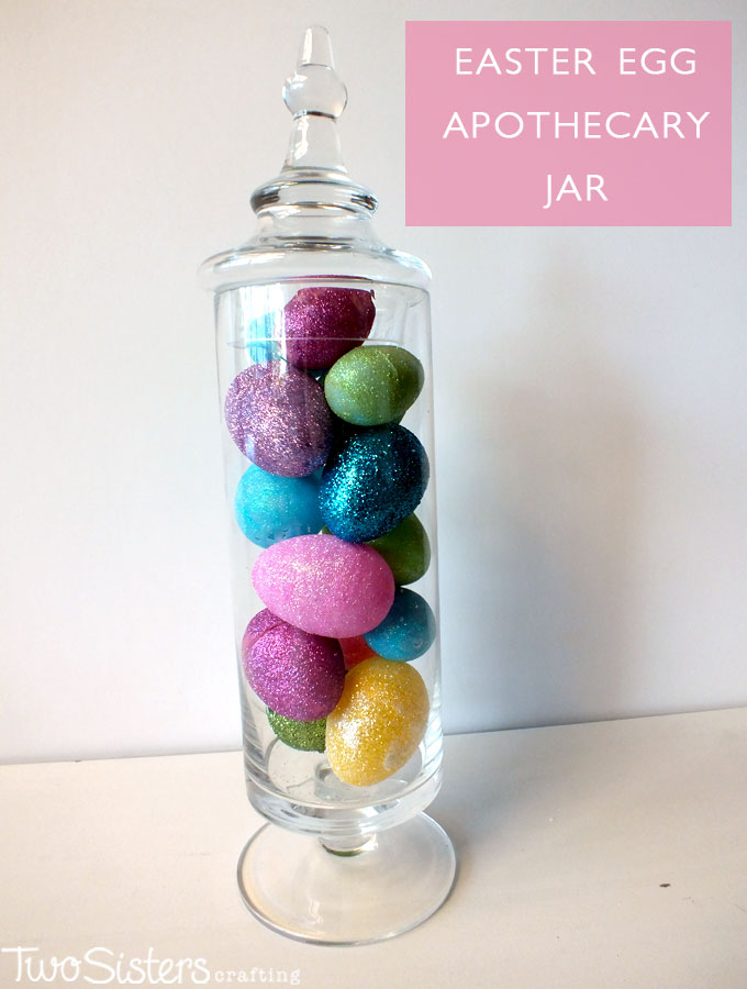 Easter Egg Apothecary Jar