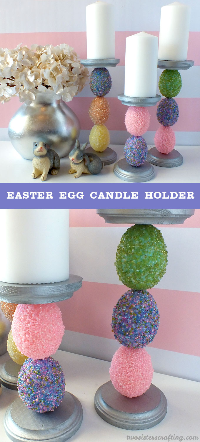 Easter Egg Candle Holder