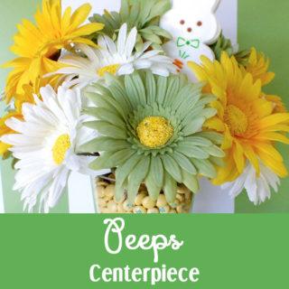Easter Peeps Centerpiece