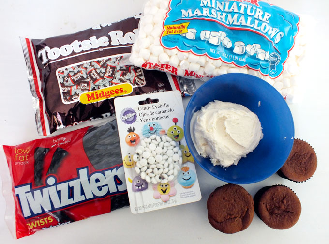 Sheep Cupcakes Ingredients