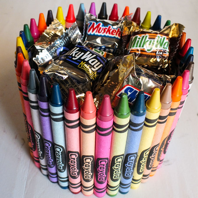 we have a brand new crayon candy dish post and you can find it right here