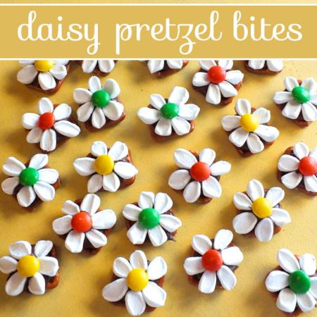 Daisy Pretzel Bites