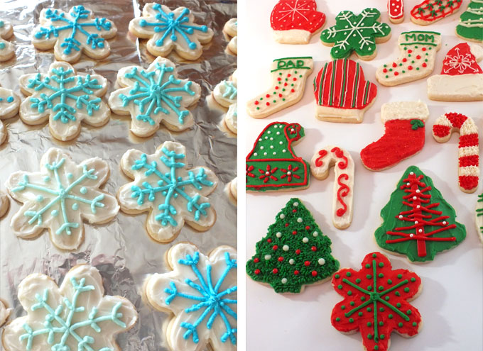 frosting the best sugar cookies - Decorations For Christmas Sugar Cookies