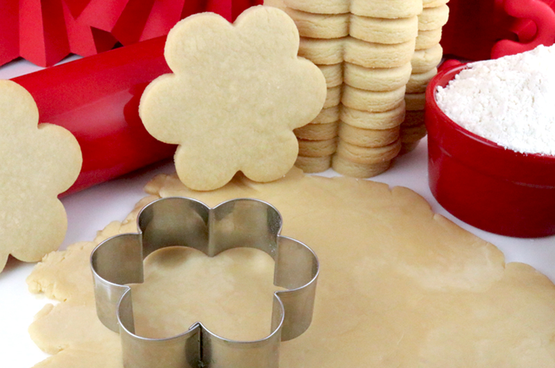The Best Sugar Cookie Recipe - Two Sisters