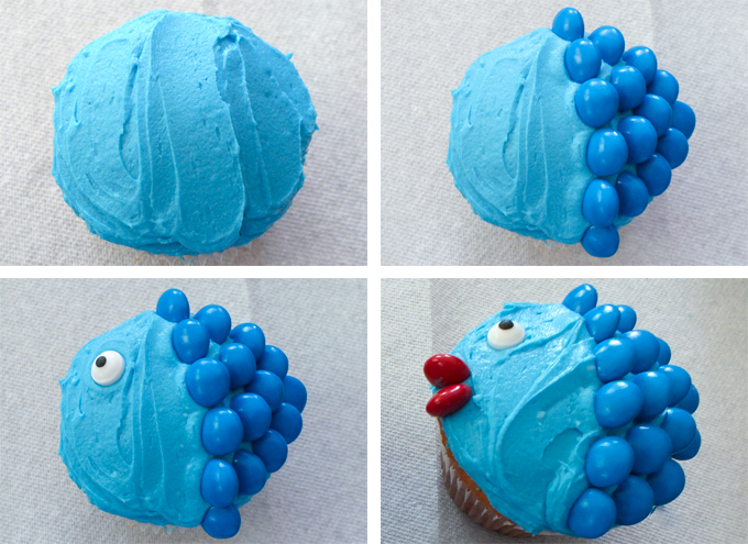 Little Fishy Cupcakes Two Sisters